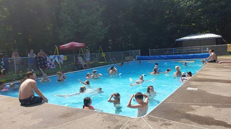 Voici comment on profite des chaudes journ es au camping for Camping a quebec avec piscine