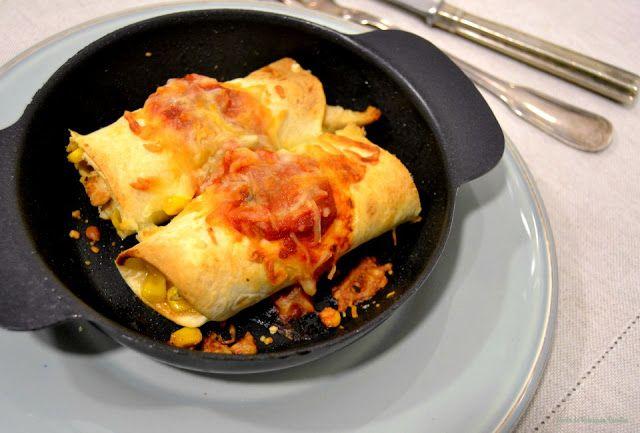 Enchiladas de peru