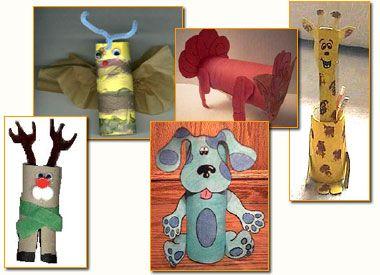 Giochi e lavoretti per bambini: Rotoli di carta igienica? Sottocoperta: il portale di Viaggi, Enogastronomia e Creatività