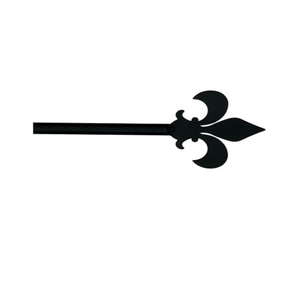 The Fleur De Lis Curtain Rod Has A Beautiful Design And Would Be Perfect  For Your Windows. This Adjustable Curtain Rod Features A Sturdy, Skinny  Diameter