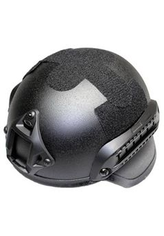 Mich 2000 Combat Military Black Helmet with Built-In ARC Rail adapter NVG Mount ! Buy Now at gorillasurplus.com