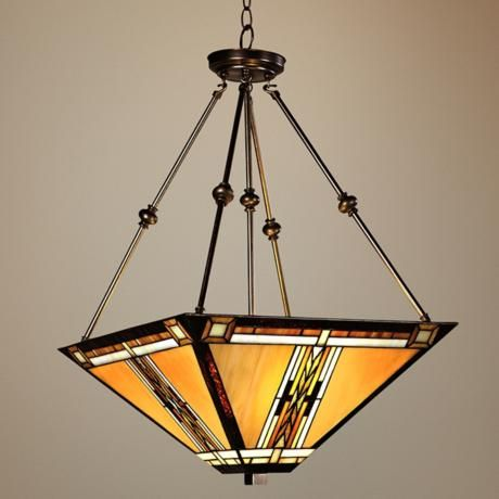 Walnut Mission Style Pendant Chandelier  Style # 43240  Read 30 Reviews  Write a Review    A pendant chandelier in the classic Mission-style with an unmistakable visual flair.    $299.99 Low Price Guarantee!  Compare $449.99