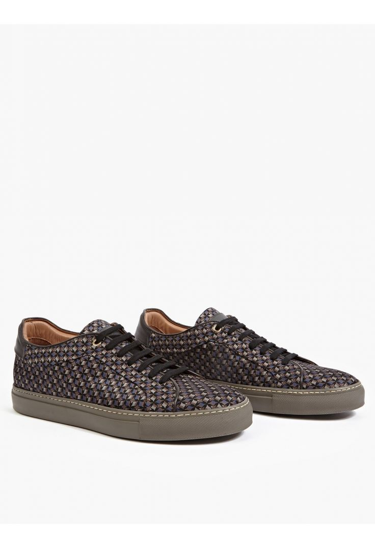 Paul Smith Men's 'Basso' Printed Sneakers | oki-ni