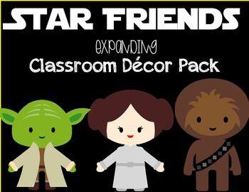 Star Friends Classroom Decor Mega Pack