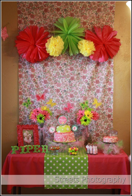 My daughter's Garden Fairy Party