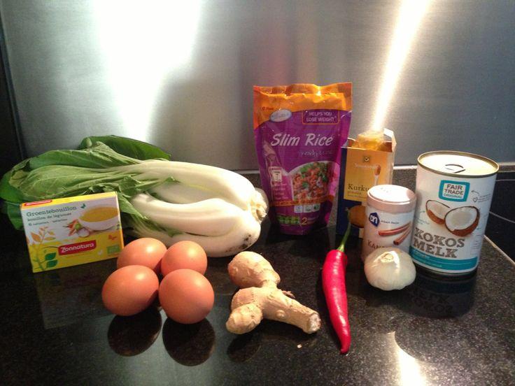 Vega curry met Slim Rijst