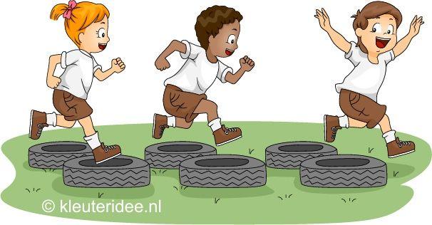 Spelletjes voor feestdagen, sportdagen en koningsdag met kleuters, kleuteridee.nl