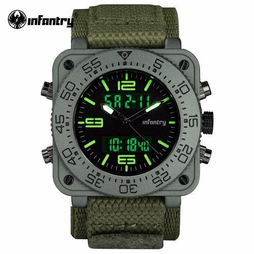 Men's Watches Quartz Watches Audacious Smael Fashion Men Watch Solar Energy Sports Watches Mens Led Analog Digital Wrist Watch Male Military Clock Relogio Masculino