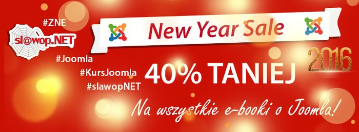 Ostatnie godziny kiedy możesz zdobyć #ebook o #Joomla! o 40% TANIEJ! http://bit.ly/slawop-wsp