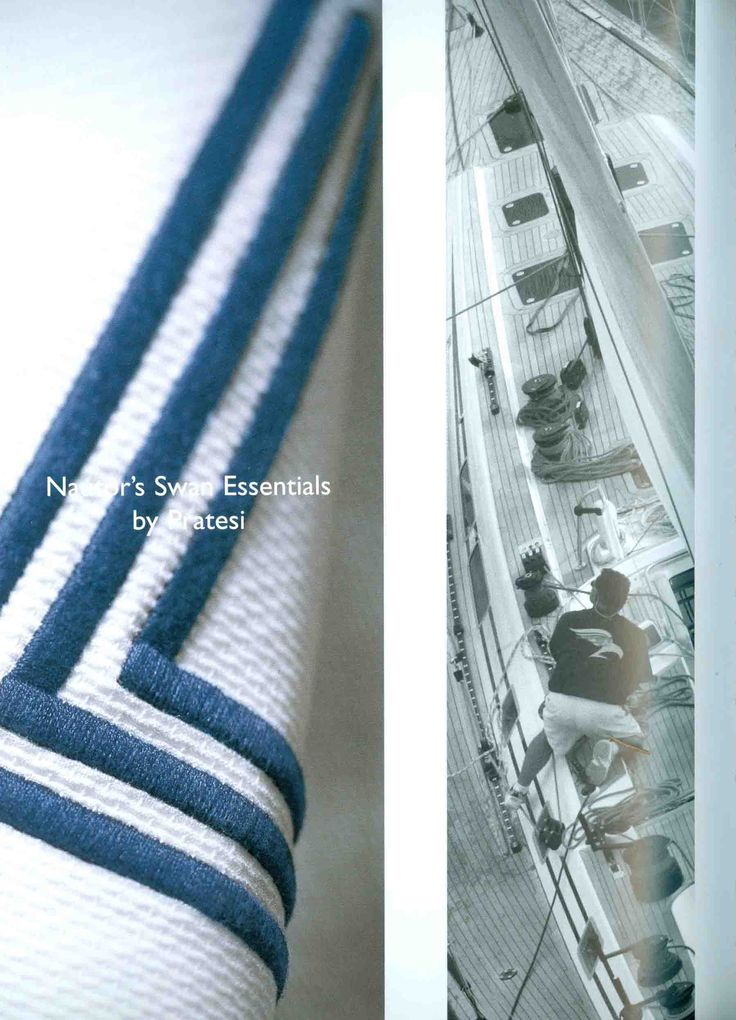 Nautor's Swan Magazine always dedicates special attention to Pratesi original products.  #pratesi #pratesiluxurylinens #luxury #yacht #luxurylife #sea #elegance #monacoyachtshow #table #madeinitaly #fashion #bedding