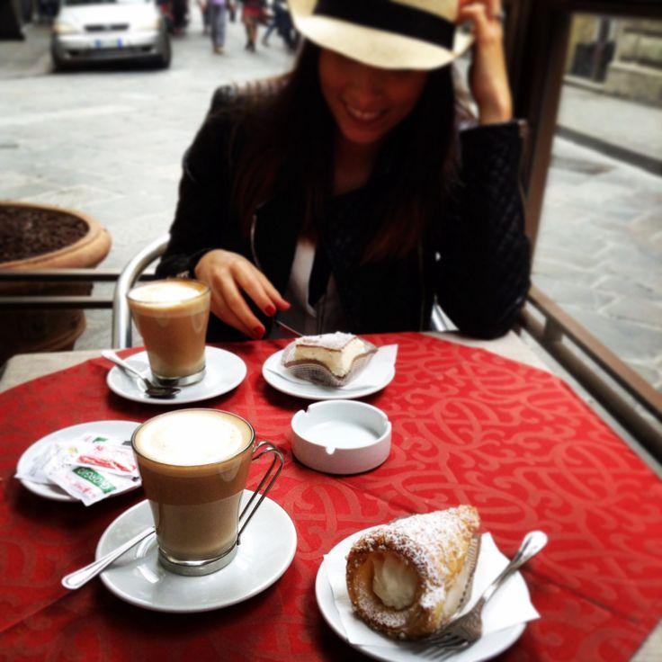 #firenze #florence #coffee #coffeetime #caffelatte #dream #dolcevita
