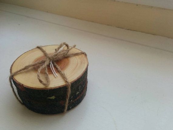 Restocked in my Etsy shop https://www.etsy.com/uk/listing/218442678/wooden-branch-coaster-set-of-four