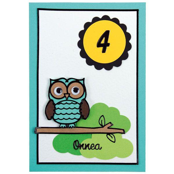 Ääriviivatarrojen avulla saat ihania kortteja. Tarvikkeet ja ideat Sinellistä!