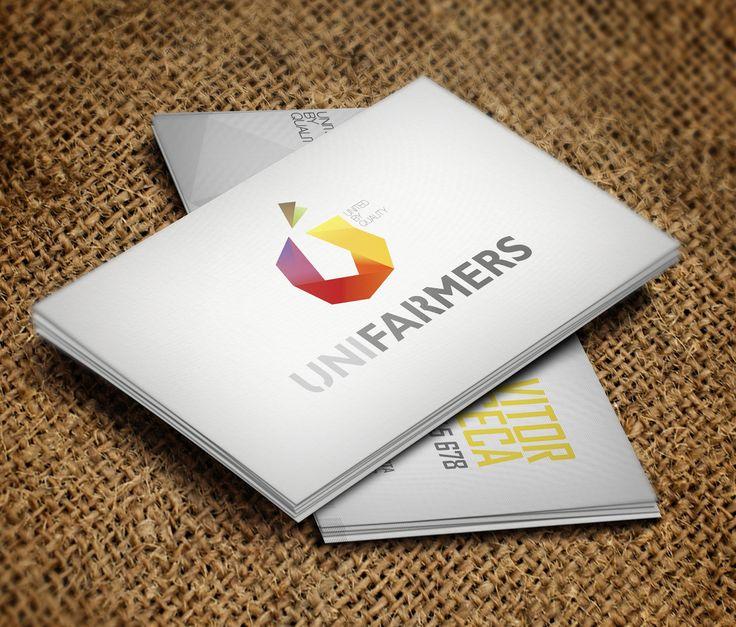 Logo para a Unifarmers #Branding #logo