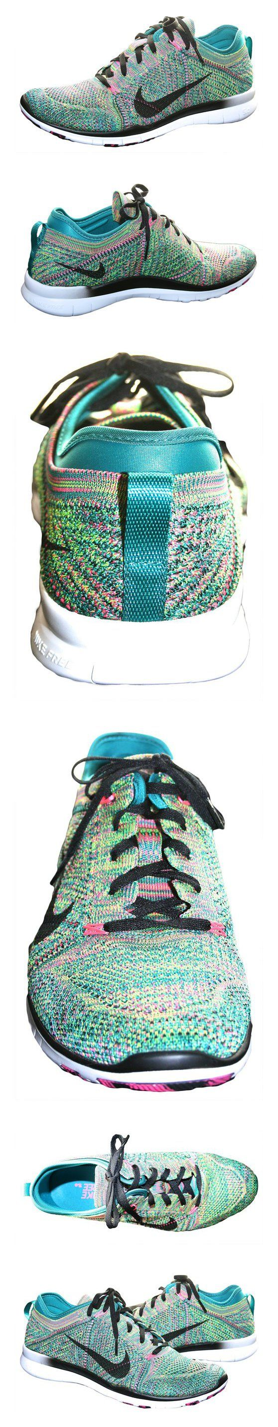 $130 - Nike Free Tr Flyknit Womens Cross Training Shoes #shoes #nike