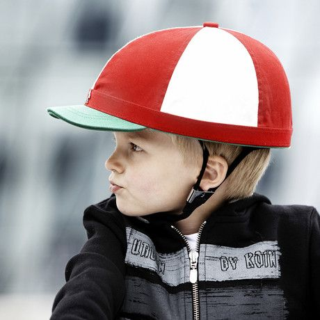 Cute kid's bike helmet