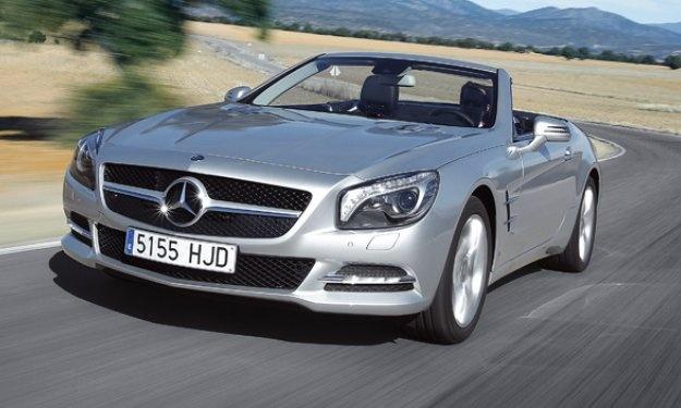 Mercedes SL 350: a disfrutar de la primavera