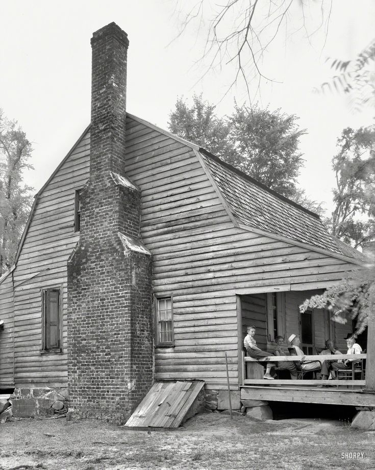 Shorpy Historical Photo Archive Folks Old Home 1936