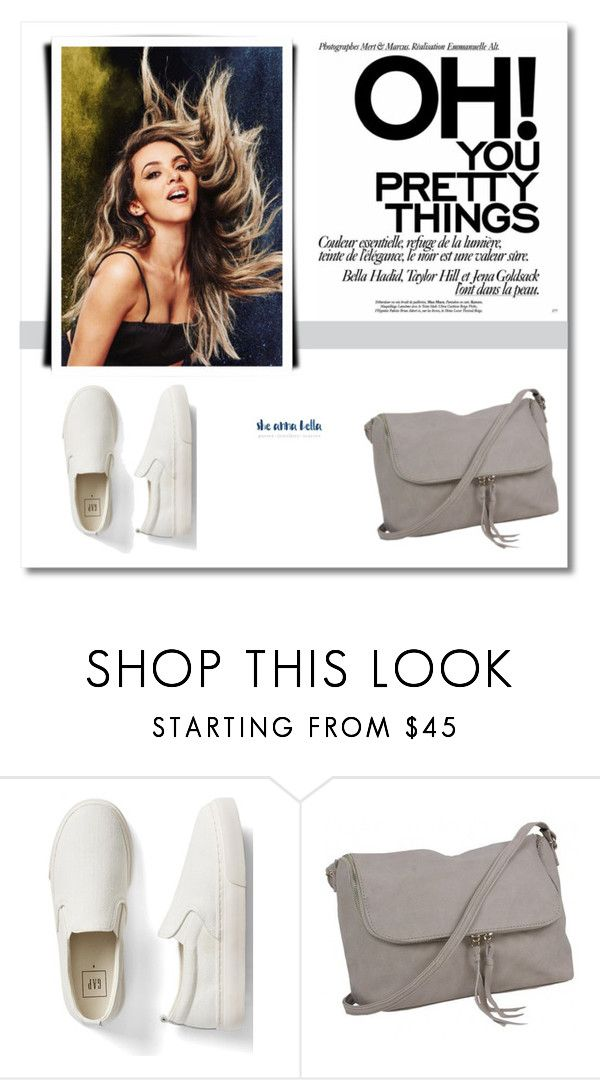 """""""She Anna Bell 22"""" by semic-merisa ❤ liked on Polyvore featuring Gap and sheannabella"""