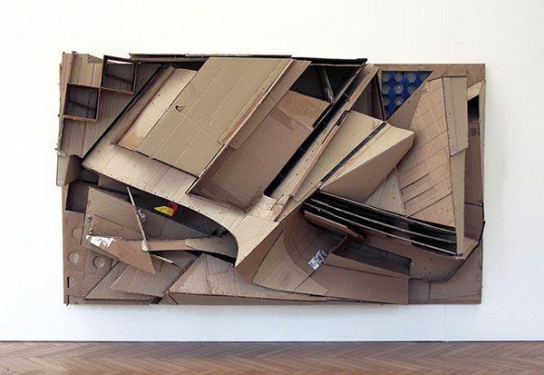 Halt mich fest, 2007 board on wooden frame 94 x 330 x 95 cm/ 76 x 130 x 37 inches