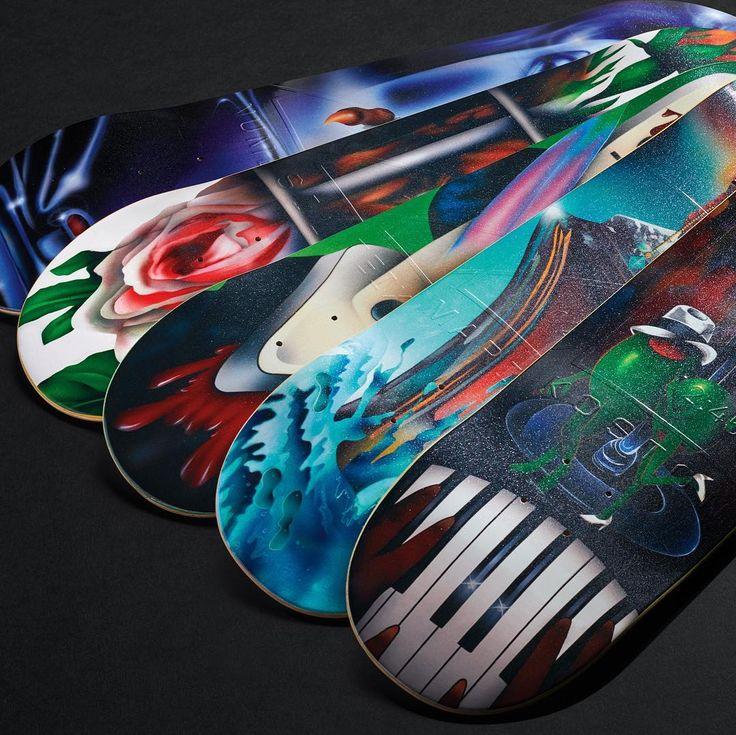 La nouvelle série de board Number Edition ( marque de skateboard fondée par Eric Koston et Guy Mariano) est disponible chez Central Skate Shop.