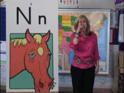 Whole Brain-Learning letter sounds with hand gestures, great for Pre-K, Kinder, and ELL students.