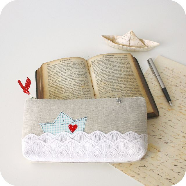 My man isn't a sailor.  But if he were,  this is how I would send him my messages of love... My letters folded into paper ships, and set to sail on the big blue sea.  *For more information, please have a look at my profile!*