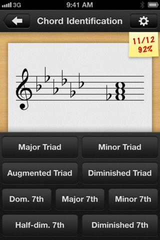 Tenuto - music theory and ear training app from the creators of the http://www.musictheory.net website