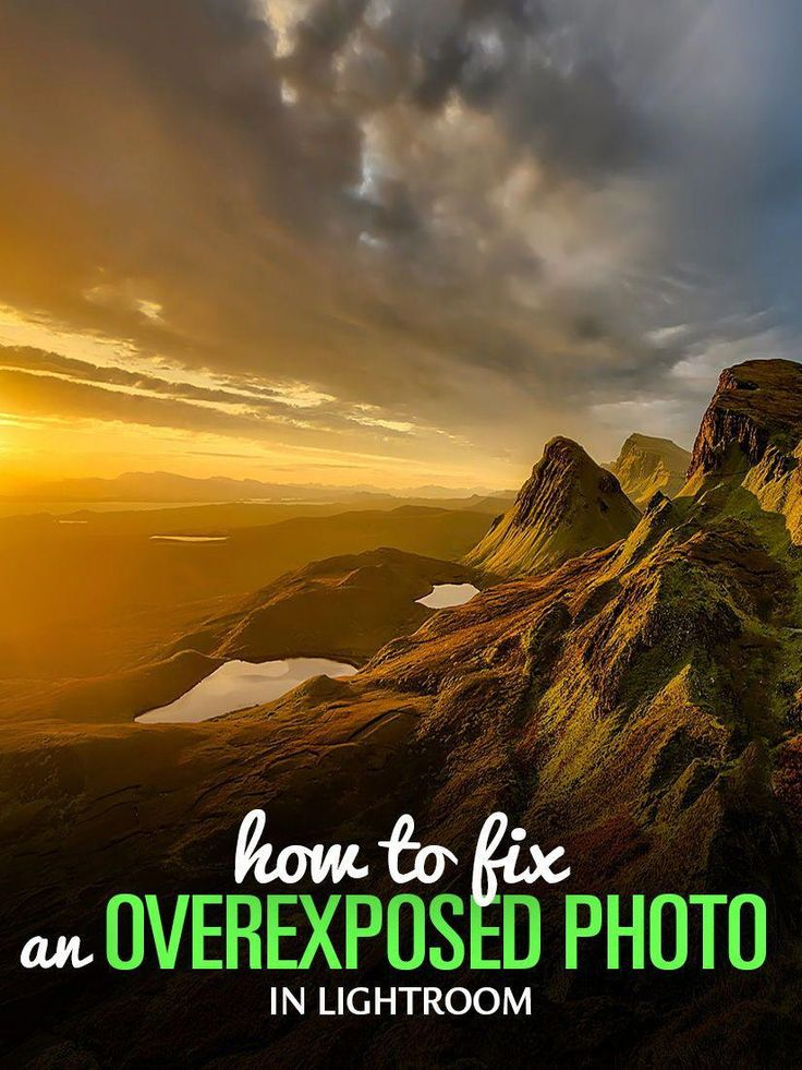 How To Fix An Overexposed Photo In Lightroom Photoshopactionstutorial Landscape Photography Tips Lightroom Landscape Photography