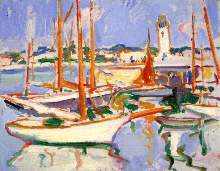 Boats at Royan