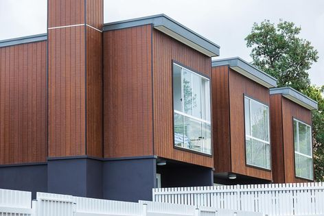 Weathertex's natural timber cladding is 100% Australian sourced, owned and manufactured.