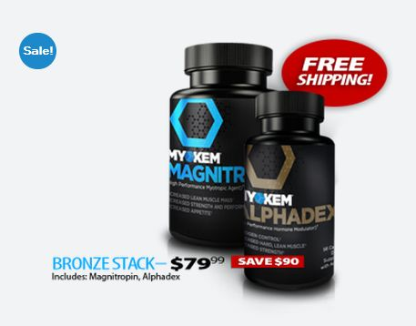 Get better with bronze! This is your chance to try our two new products and save money!! ##magnitropin #alphadex #myokem #myokemnation #defylimitations #scienceoverhype #supplements #preworkout #pyroxamine #productlaunch #anabolic  ORDER TODAY AND SAVE:   http://myokem.com/product/magnitropinalphadex/