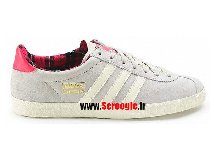 Chaussures de Originals Pas Cher Pour Homme/Femme Adidas Gazelle OG Bliss Rose G95611