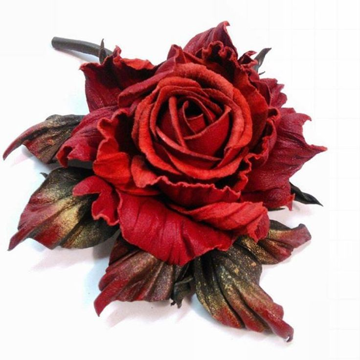 Розы из кожи картинки