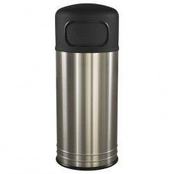 Large Capacity Stainless Steel Outdoor Garbage Can