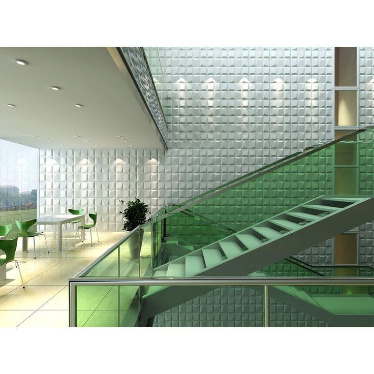 el panel decorativo mosaics confiere un aire moderno y original a la estancia donde se coloque