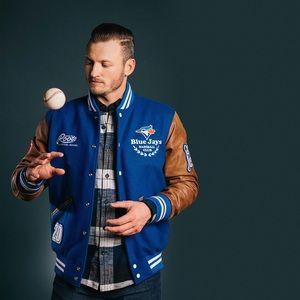 Award Melton Leather Jacket by Roots