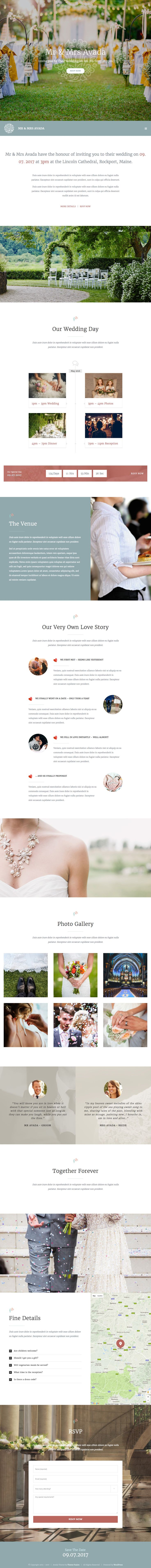 wedding invitation template themeforest%0A Avada Wedding Wordpress Theme   Template  https   themeforest net item
