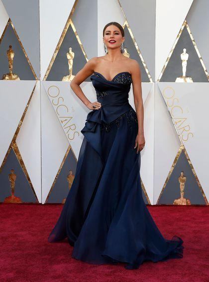 Oscars 2016: les plus belles robes des stars - Sofia Vergara en robe Marchesa