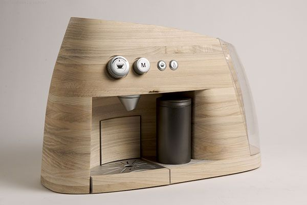 Espresso Machine Concept by Oystein Husby.