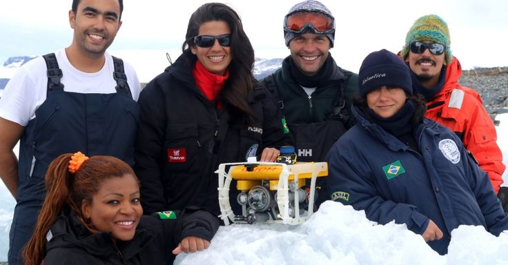 Pela primeira vez, um pequeno robô submarino será operado por um grupo de pesquisadores brasileiros do Instituto Nacional de Ciência e Tecnologia Antártico de Pesquisas Ambientais. A pesquisa irá mapear a fauna de algumas áreas usando vídeos subaquáticos feitos por câmeras do robô. Os resultados colaborarão para o monitoramento ambiental da área e serão correlacionados com a ação antrópica local e mudanças climáticas globais