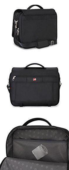 Swiss Army Messenger Bag. Swiss Gear SA8733 Black TSA Friendly ScanSmart Laptop Messenger Bag - Fits Most 15 Inch Laptops amd Tablets.  #swiss #army #messenger #bag #swissarmy #armymessenger #messengerbag