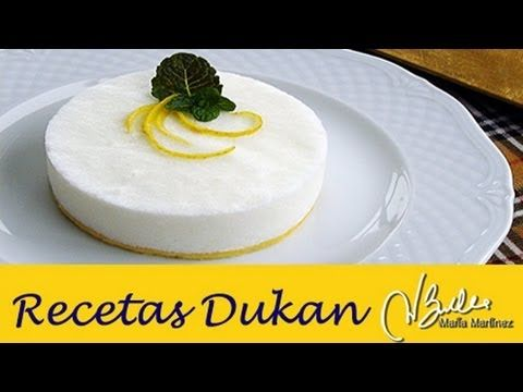 Bavarois helada de Yogur (Crucero) | Recetas Dukan Maria Martinez