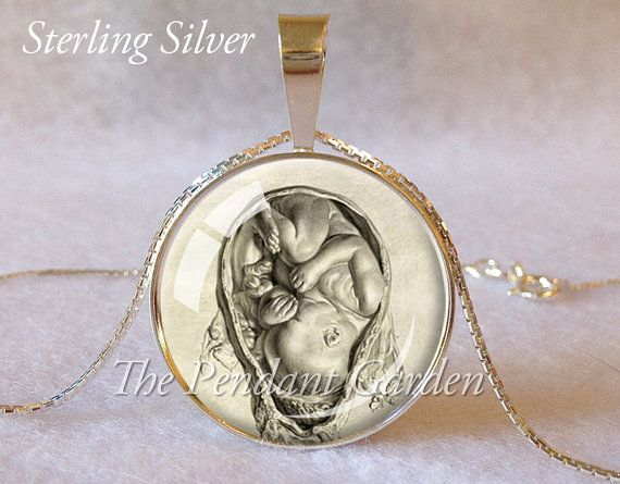 Hey, I found this really awesome Etsy listing at https://www.etsy.com/listing/204840312/sterling-midwife-pendant-midwife-gift-da