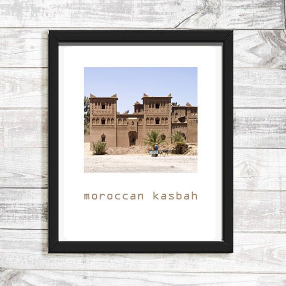 Morocco photography Moroccan wall art print large size