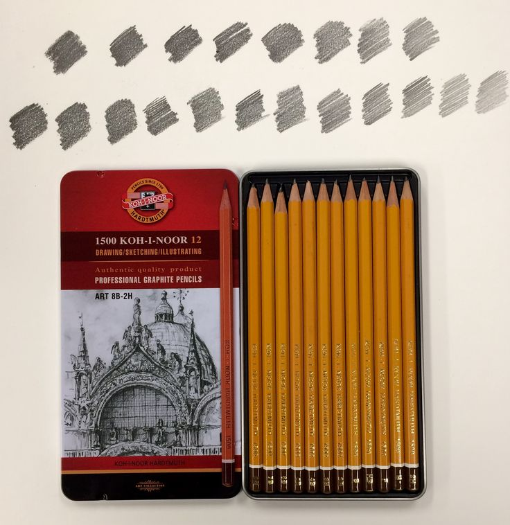 Professional graphite pencils ✏️
