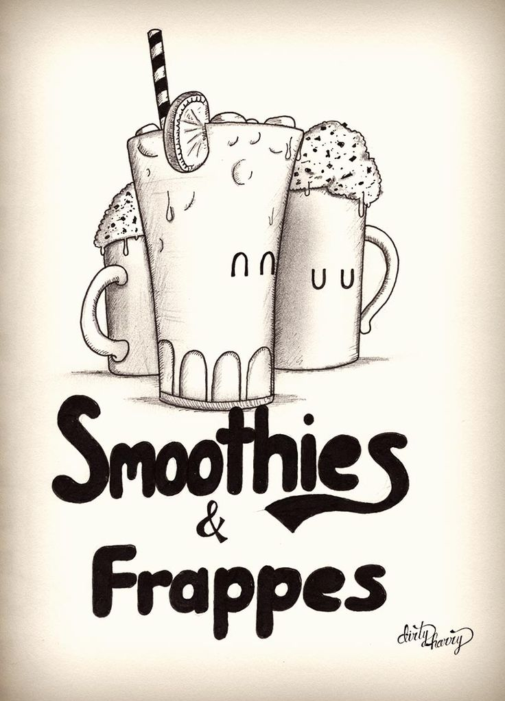 Smoothies & frappes - www.dirtyharry.es
