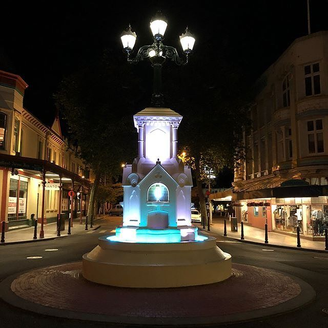 The Watt Fountain sits proudly in the middle of one of the loveliest intersections in town surrounded by amazing heritage buildings. Keep an eye out for it when you #visitwhanganui  Pic Credit: @countrylane  http://ift.tt/2k5r0RG . . . . #whanganui #newzealand #wanganui #northisland #westcoast #travelnz #visitnewzealand #newzealandbeauty #whanganuiriver #nzmustdo #kiwi_photos #kiwipics #travelgram #lonelyplanet #nz #mustdonz #travel #igtravel #instatravel #wattfountain