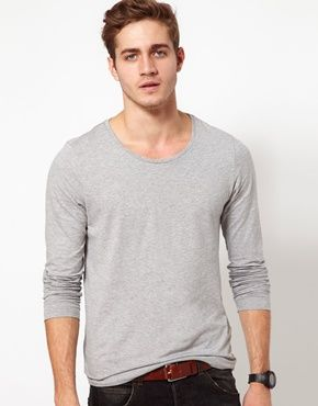 ASOS Long Sleeve T-Shirt With Scoop Neck $11.78