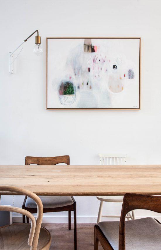 Dining room | Avenue | Art by Lola Donoghue